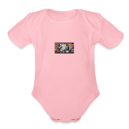 GRAND AUTO SOULZ - Organic Short Sleeve Baby Bodysuit