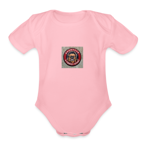 Chewie - Organic Short Sleeve Baby Bodysuit