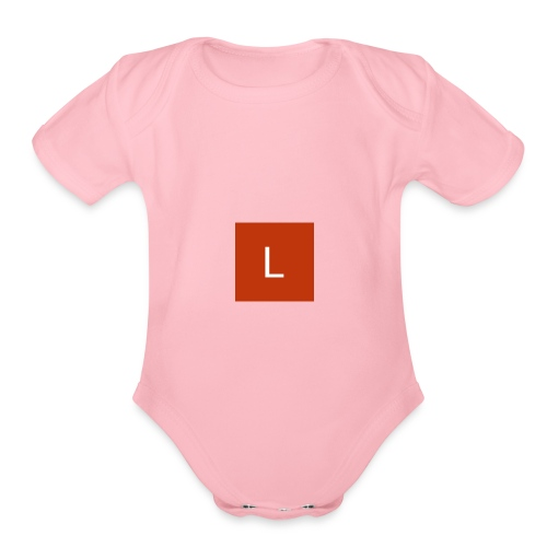 logan lee - Organic Short Sleeve Baby Bodysuit