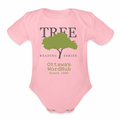 Tree Reading Swag - Organic Short Sleeve Baby Bodysuit