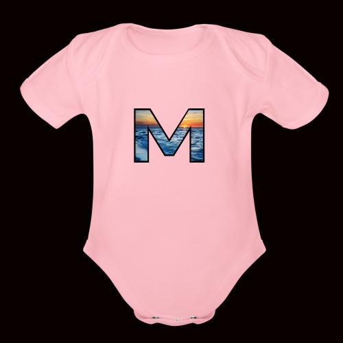 Mjpj - Organic Short Sleeve Baby Bodysuit