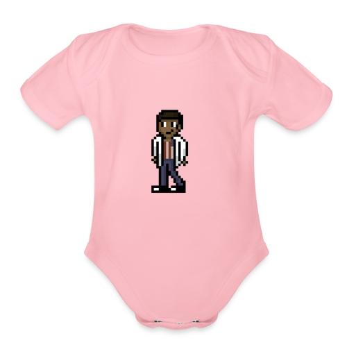 TeamBit - Organic Short Sleeve Baby Bodysuit