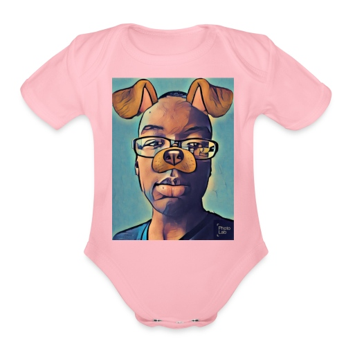 @King Marvins - Organic Short Sleeve Baby Bodysuit