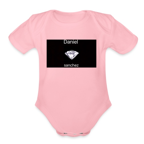 daniel merch - Organic Short Sleeve Baby Bodysuit