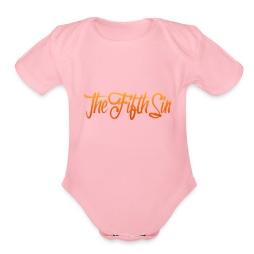 TFS - Organic Short Sleeve Baby Bodysuit