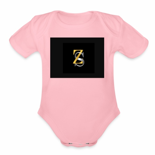 ZS - Organic Short Sleeve Baby Bodysuit