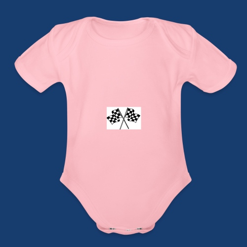 44 - Organic Short Sleeve Baby Bodysuit