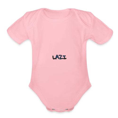 Lazi - Organic Short Sleeve Baby Bodysuit