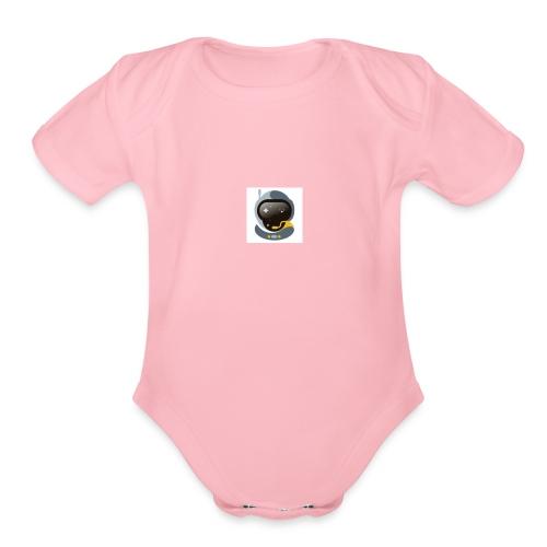 Unknown 5 - Organic Short Sleeve Baby Bodysuit