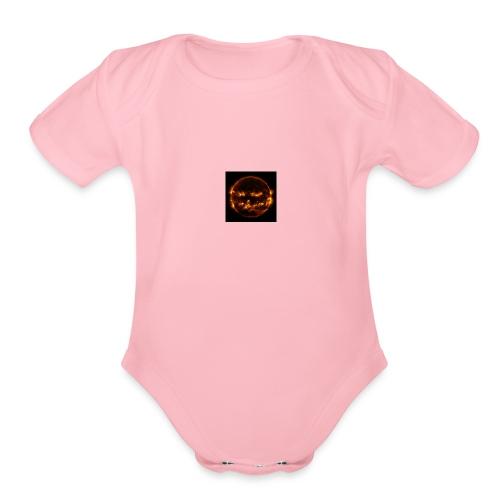 sun - Organic Short Sleeve Baby Bodysuit