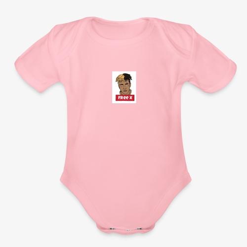 tentacion - Organic Short Sleeve Baby Bodysuit