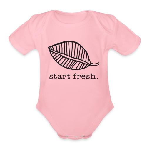 Start Fresh Kitchen - Organic Short Sleeve Baby Bodysuit