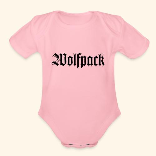 Wolfpack - Organic Short Sleeve Baby Bodysuit