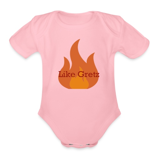 FireLikeMerch - Organic Short Sleeve Baby Bodysuit