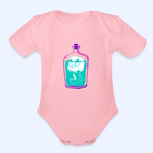 Poison - Organic Short Sleeve Baby Bodysuit