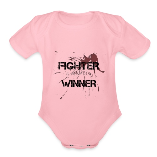 Quotes by MG - Organic Short Sleeve Baby Bodysuit