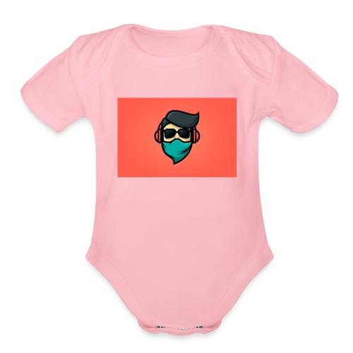 SuperCool - Organic Short Sleeve Baby Bodysuit