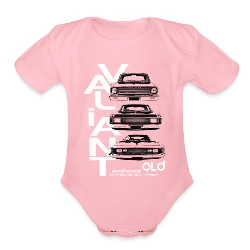 val tower - Organic Short Sleeve Baby Bodysuit