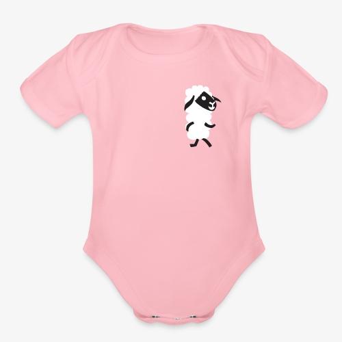 Sheep - Organic Short Sleeve Baby Bodysuit