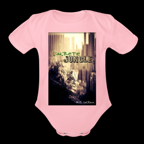Concrete Jungle - Organic Short Sleeve Baby Bodysuit