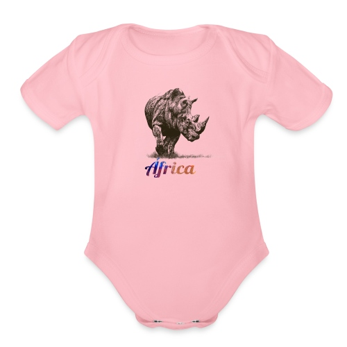 Say NO TO INDISCRIMINATED HUNT - Organic Short Sleeve Baby Bodysuit