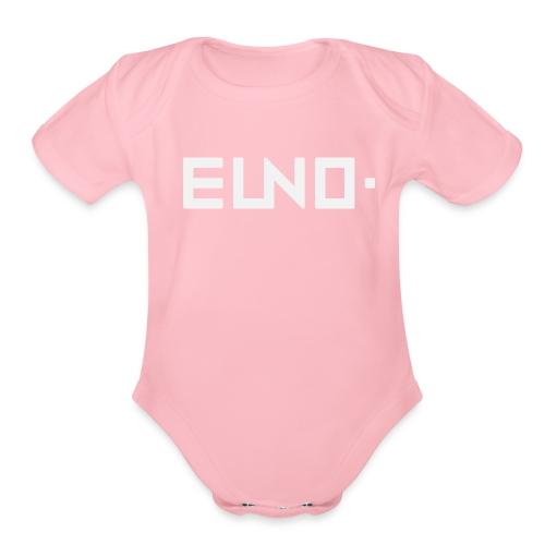 EUNO Apperals 3 - Organic Short Sleeve Baby Bodysuit