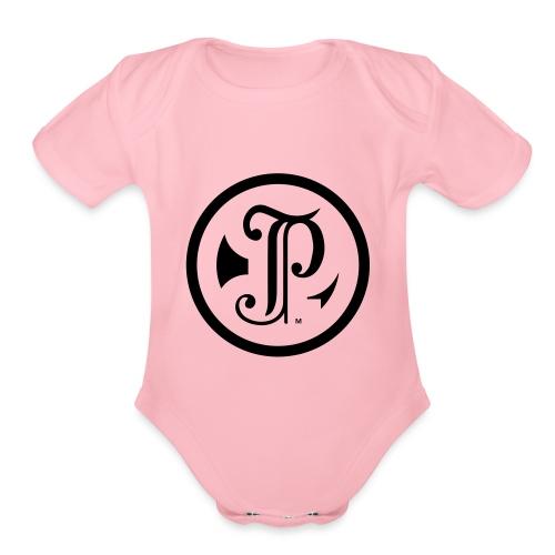 TP Logo - Organic Short Sleeve Baby Bodysuit