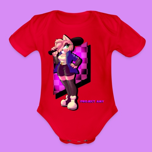Project Amy : Chilled - Organic Short Sleeve Baby Bodysuit