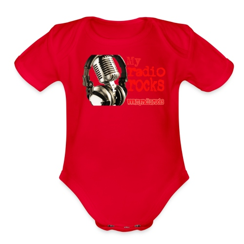 My Radio.Rocks Appearal - Organic Short Sleeve Baby Bodysuit