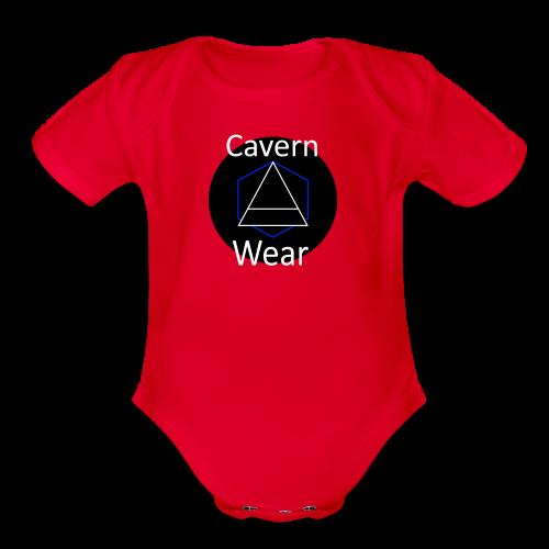 Cavern Wear - Organic Short Sleeve Baby Bodysuit