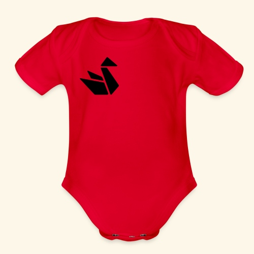 Swan Merch - Organic Short Sleeve Baby Bodysuit