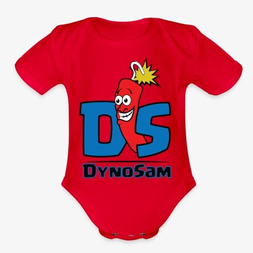 DynoSam - Organic Short Sleeve Baby Bodysuit