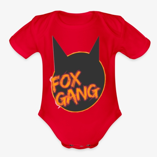 The fox gang official - Organic Short Sleeve Baby Bodysuit