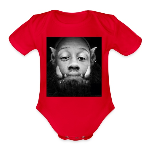 WAR CAFT - Organic Short Sleeve Baby Bodysuit
