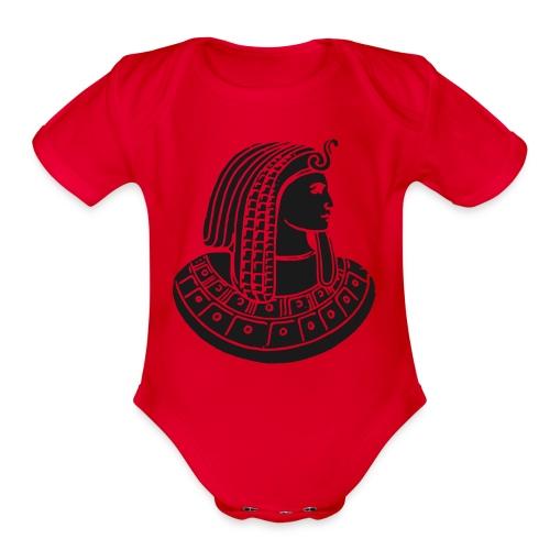 Pharaoh - Organic Short Sleeve Baby Bodysuit