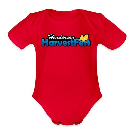 Henderson Harvest Fest - Organic Short Sleeve Baby Bodysuit
