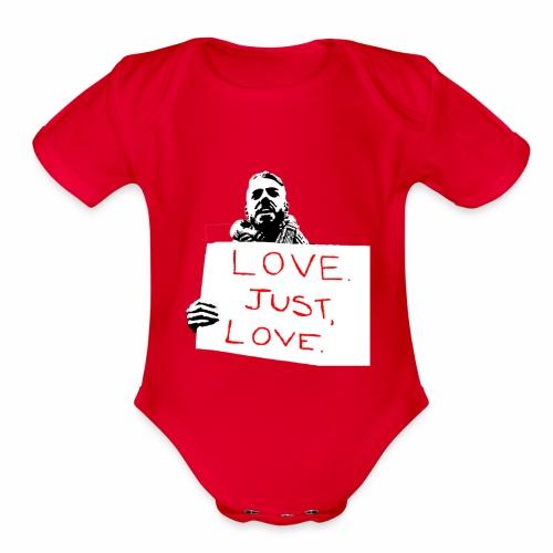 Just Love - Organic Short Sleeve Baby Bodysuit