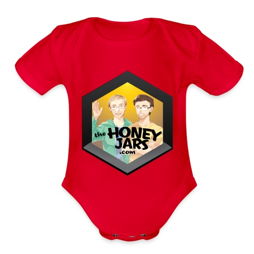The Honey Jars - Organic Short Sleeve Baby Bodysuit