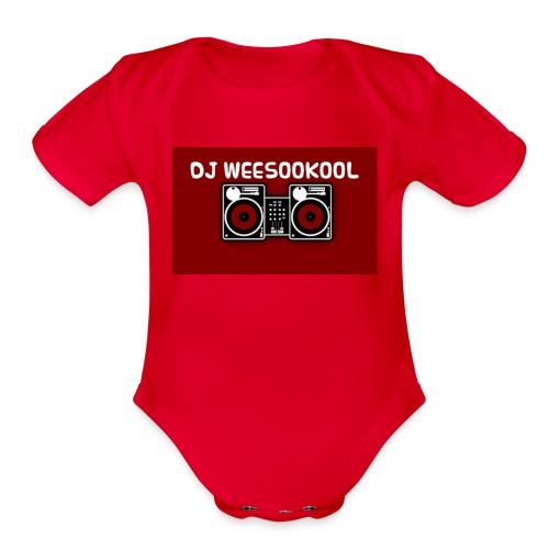 Dj Weesookool - Organic Short Sleeve Baby Bodysuit
