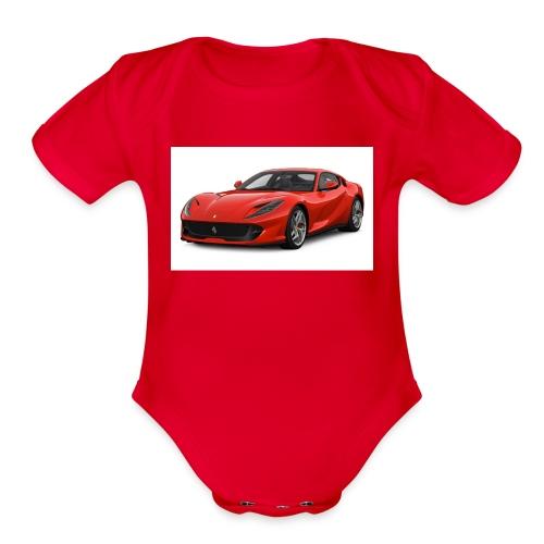 Joshua Powell - Organic Short Sleeve Baby Bodysuit