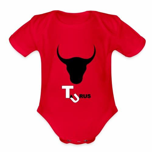 Taurus - Organic Short Sleeve Baby Bodysuit