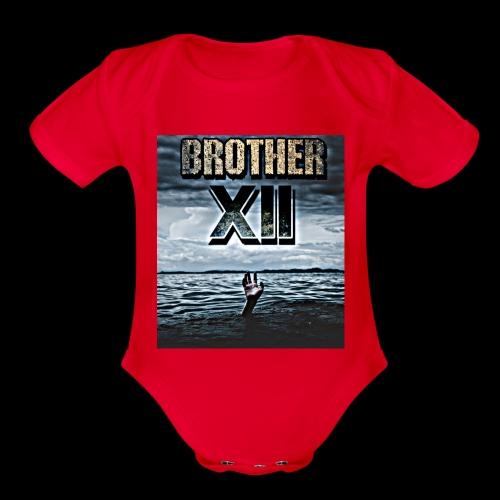 7408671D 1B9B 439B 80AD D25354B2968B - Organic Short Sleeve Baby Bodysuit