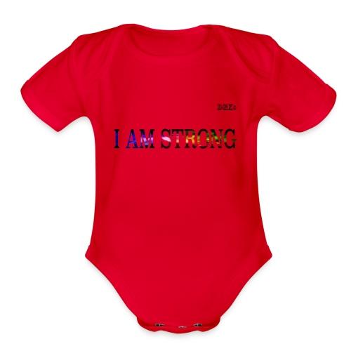 2 TSHIRT Print image - Organic Short Sleeve Baby Bodysuit