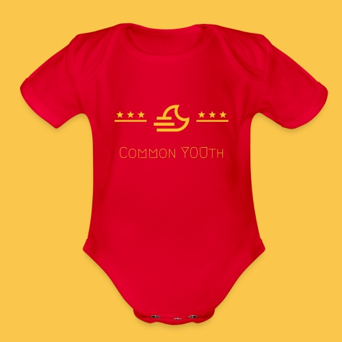 CommonYOUth - Organic Short Sleeve Baby Bodysuit