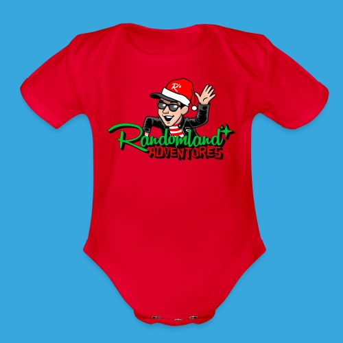 Randomland™ Holiday Adventures! - Organic Short Sleeve Baby Bodysuit