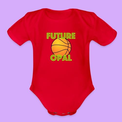 future opal - Organic Short Sleeve Baby Bodysuit