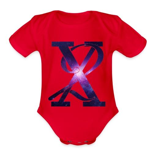 Galaxy X2 - Organic Short Sleeve Baby Bodysuit