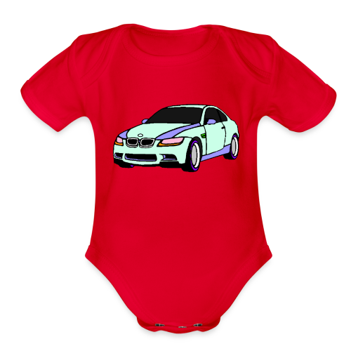BMW - Organic Short Sleeve Baby Bodysuit