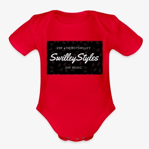 SwilleyStyles Promo - Organic Short Sleeve Baby Bodysuit