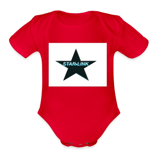 Star-Link product - Organic Short Sleeve Baby Bodysuit